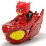 Masina Dicki Toys Eroi in Pijamale Owl Glider cu figurina