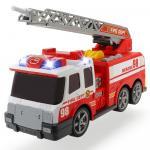 Masina de pompieri Dickie Toys Fire Dept 98 cu sunete si lumini