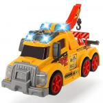 Masina de tractare Dickie Toys Tow Truck cu sunete si lumini