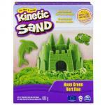 Nisip Kinetic Deluxe culori neon 680 grame verde