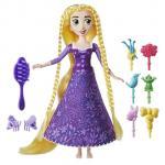 Papusa Rapunzel cu accesorii de par Tangled