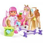 Papusa Simba Evi Love Holiday Horse