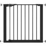 Poarta de siguranta Noma Easy Fit presiune 75-82 cm metal negru N94313