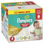 Scutece chilotel Pampers Premium Care Pants Mega Box 4 Maxi 8-14 kg 66 buc