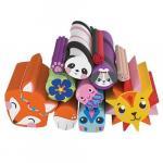 Set Rezerva Betisoare Colorate Cutie Stix cu Animale