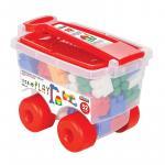 Troller cu 52 de cuburi Master Blocks