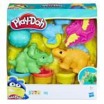 Set lumea dinozaurilor play doh