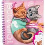 Top Model Carte de colorat cu pisici Depesche PT5361