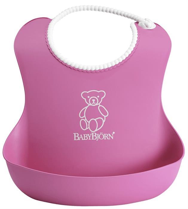 Bavetica moale Soft Bib Pink BabyBjorn