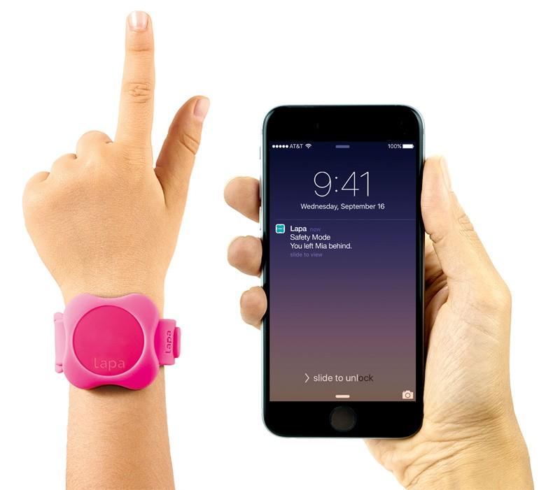 Bratara Din Silicon Pentru Localizator Bluetooth Lapa Dispozitiv De Urmarire Copii Roz