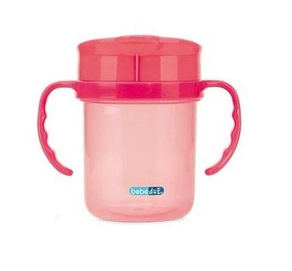 Cana anti-scurgere roz BebeduE