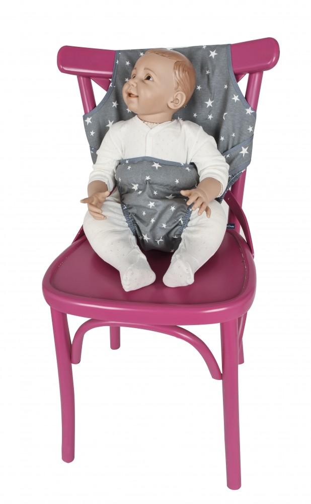 Ham scaun Grey Stars Sevibaby