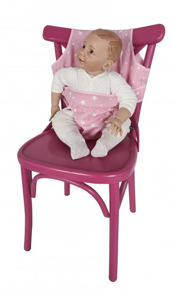 Ham scaun Pink Stars Sevibaby