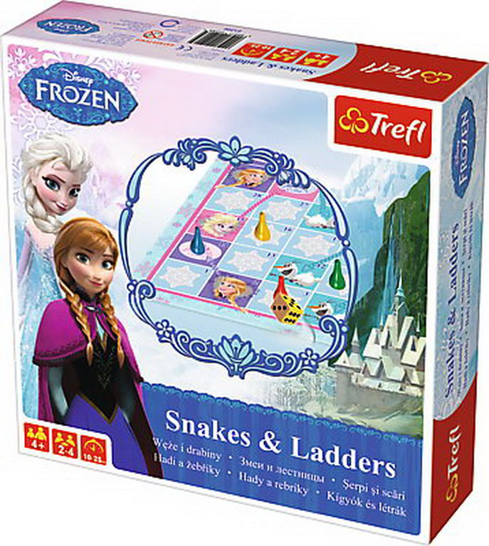 Joc Snakes and Ladders Frozen
