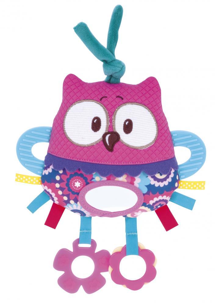 Jucarie pentru patut 68042 Soft Activity Toy Owl imagine