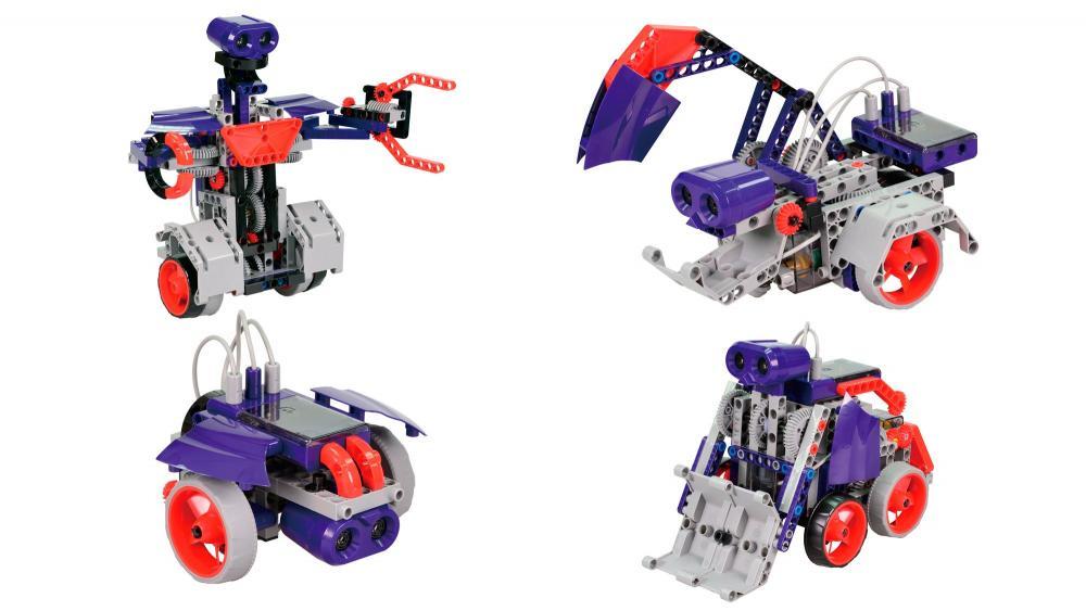 Kit robotic programabil jucarie educativa Smartbots V2 Juguetronica