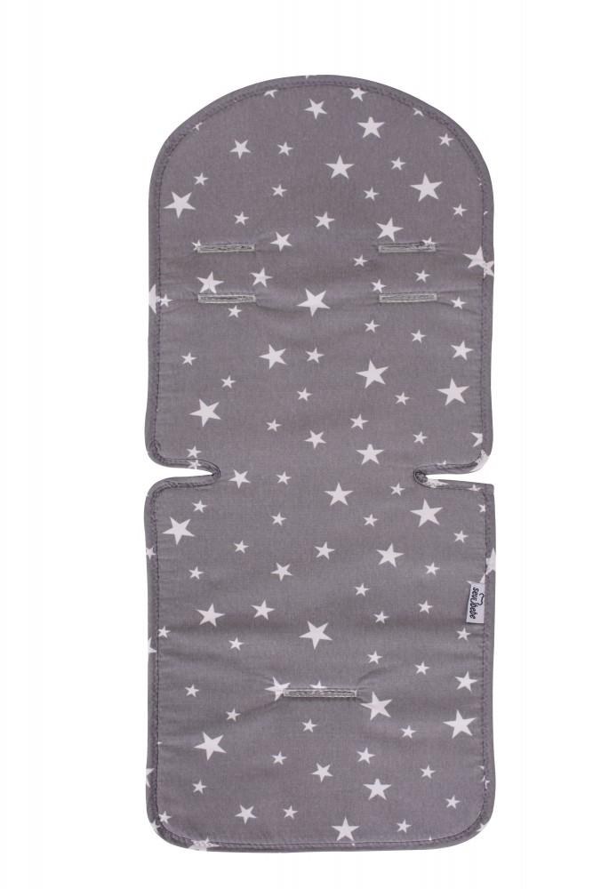 SeviBebe Liner carucior Grey Stars Sevibaby