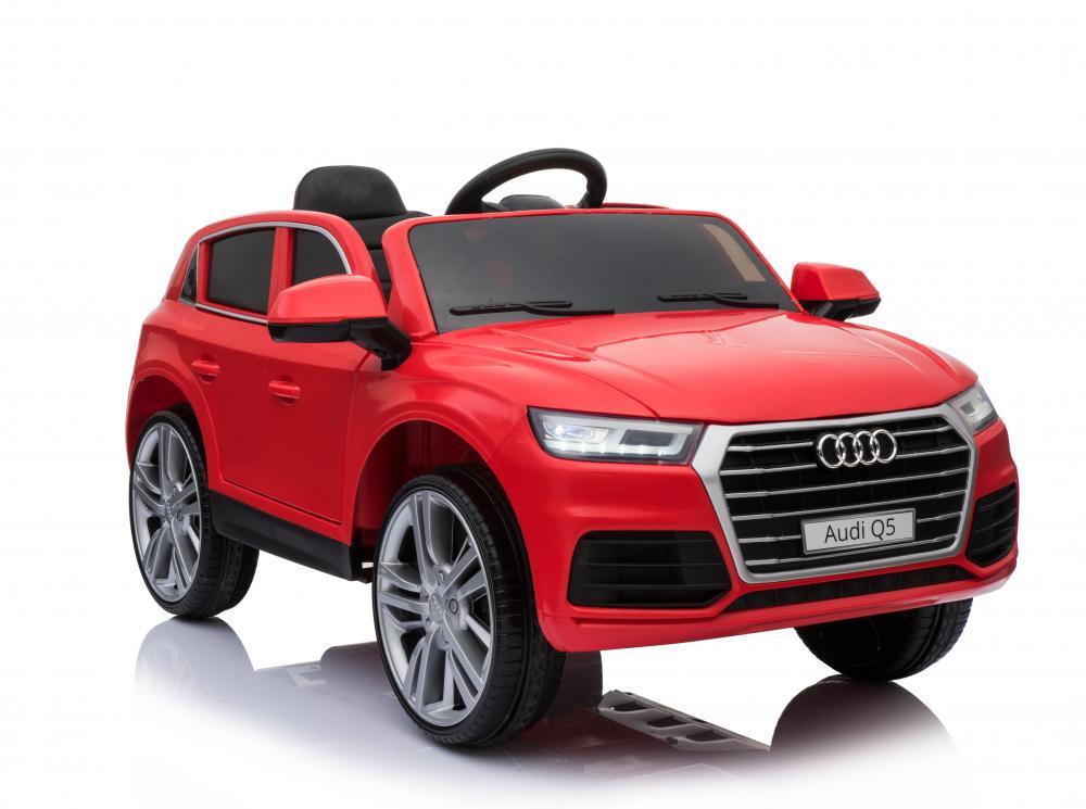 Masinuta Electrica Audi Q5 Cu Scaun De Piele Red