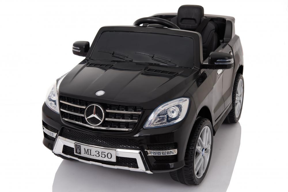 Masinuta electrica Mercedes Benz ML 350 cu scaun de piele Black