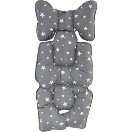 Protectie textila pentru caruciorscaun Grey Stars - 2