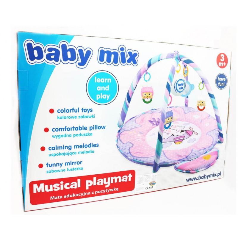 Saltea de joaca muzicala Pink Kitty imagine