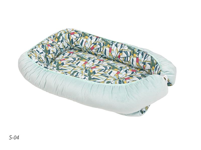 Saltea reductor 3 in 1 cu spuma Bed Nest Soft 04