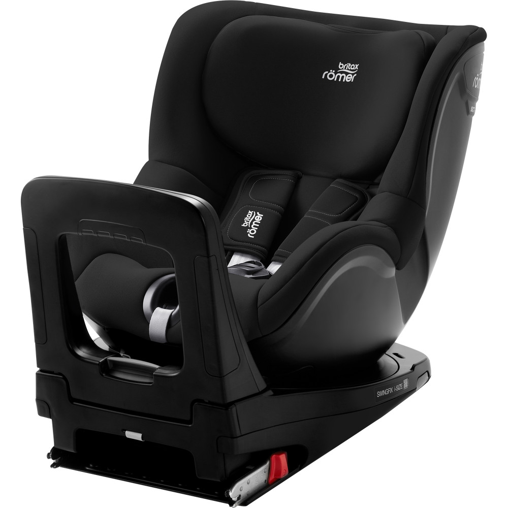Scaun auto 0-18 kg Swingfix I-size Cosmos Black Britax Romer imagine