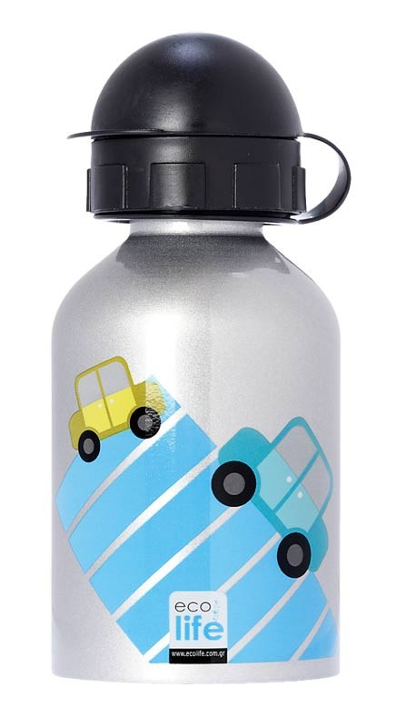 Sticla Inox Copii 400 ml EcoLife Cars