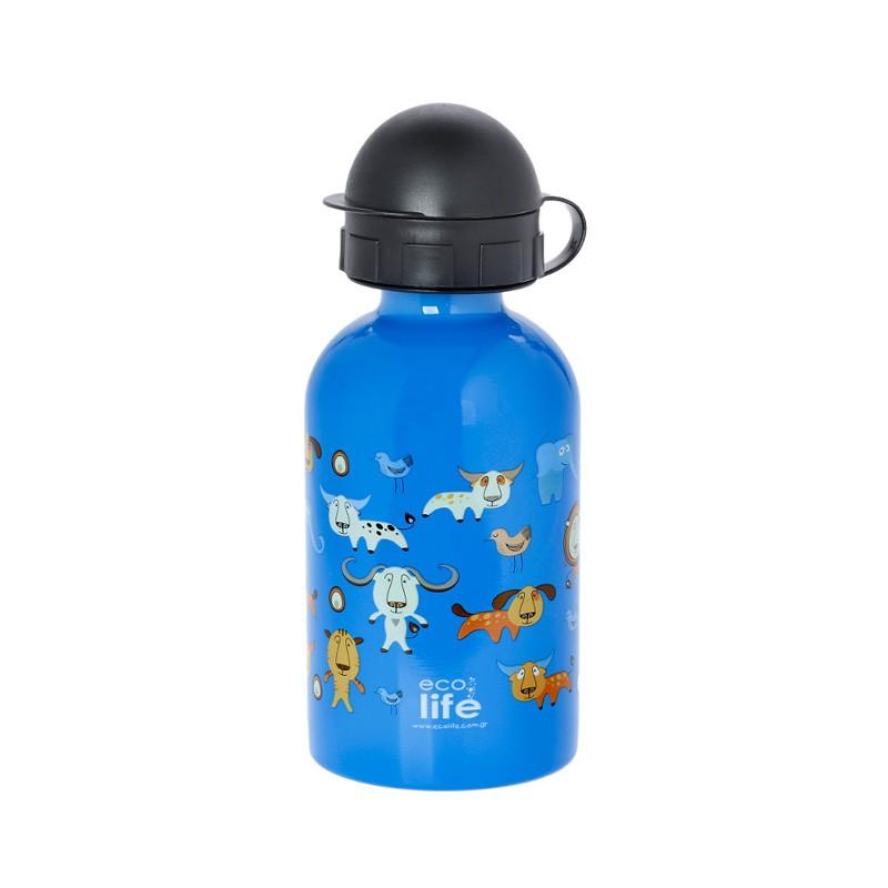 Sticla Inox Copii 400 ml EcoLife Jungle