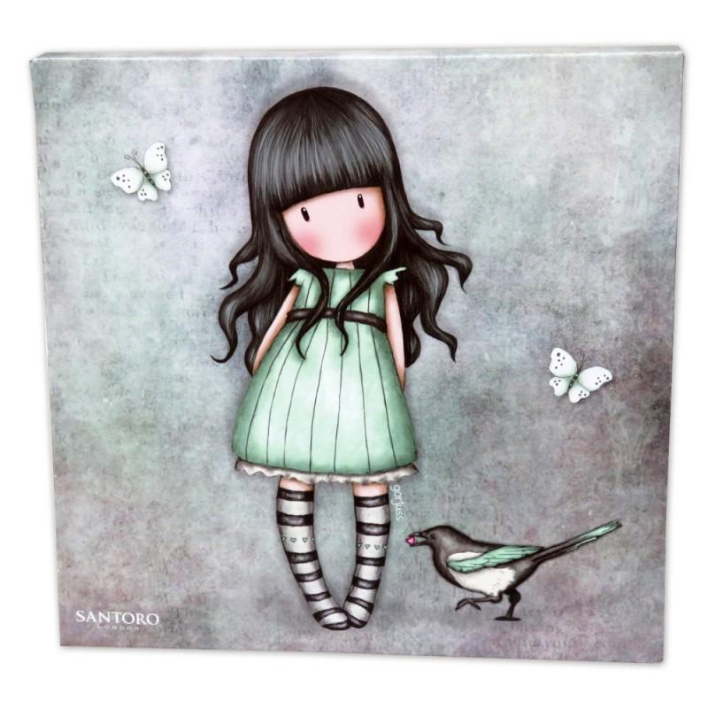 Tablou 24x24 canvas Gorjuss I Stole Your Heart