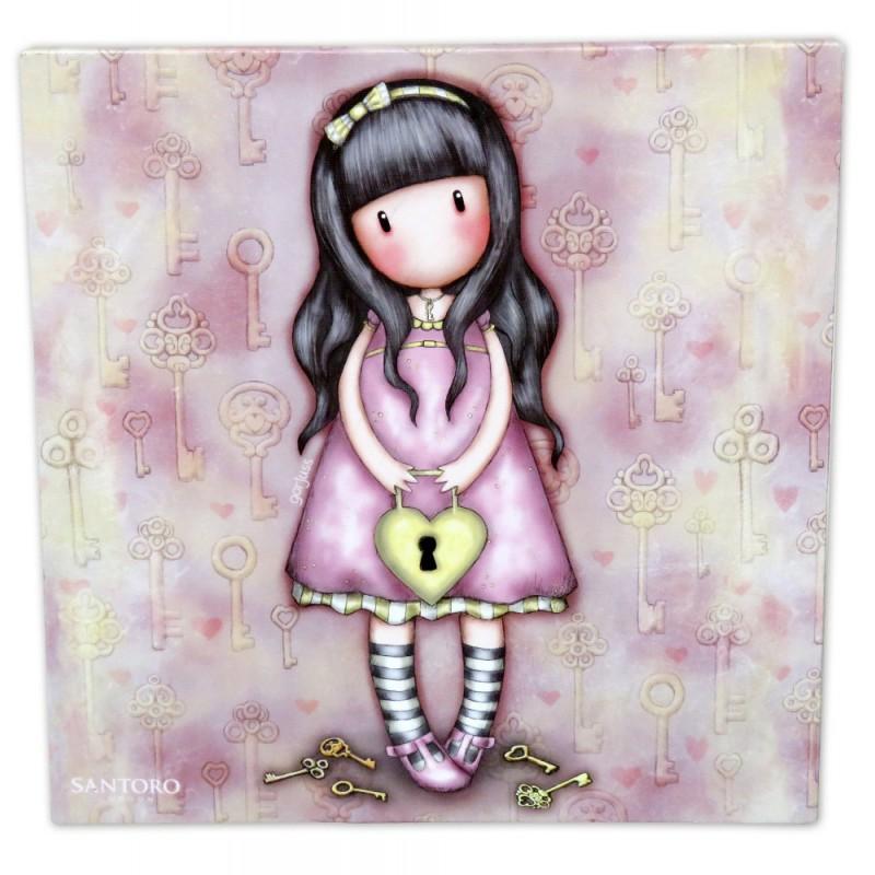 Tablou 24x24 canvas Gorjuss The Secret imagine