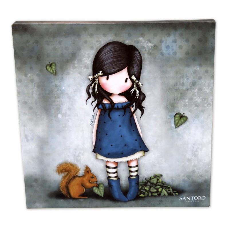 Tablou 24x24 canvas Gorjuss You Brought Me Love