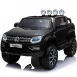 Masinuta electrica cu telecomanda 2.4 G VW Amarok Black