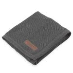 Paturica tricotata gri inchis Travel 70 x 90