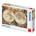 Puzzle Harta istorica (1000 piese)