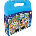 Puzzle Printesele Disney World 100 piese