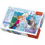 Puzzle Trefl 30 Magia Frozen