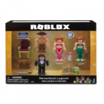 Set 4 Figurine Roblox Celebrity Blister