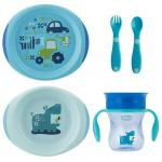 Set complet hranire Chicco Boy 12luni+