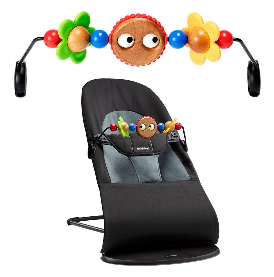Bara de jucarii Googly eyes pentru balansoarele BabyBjorn
