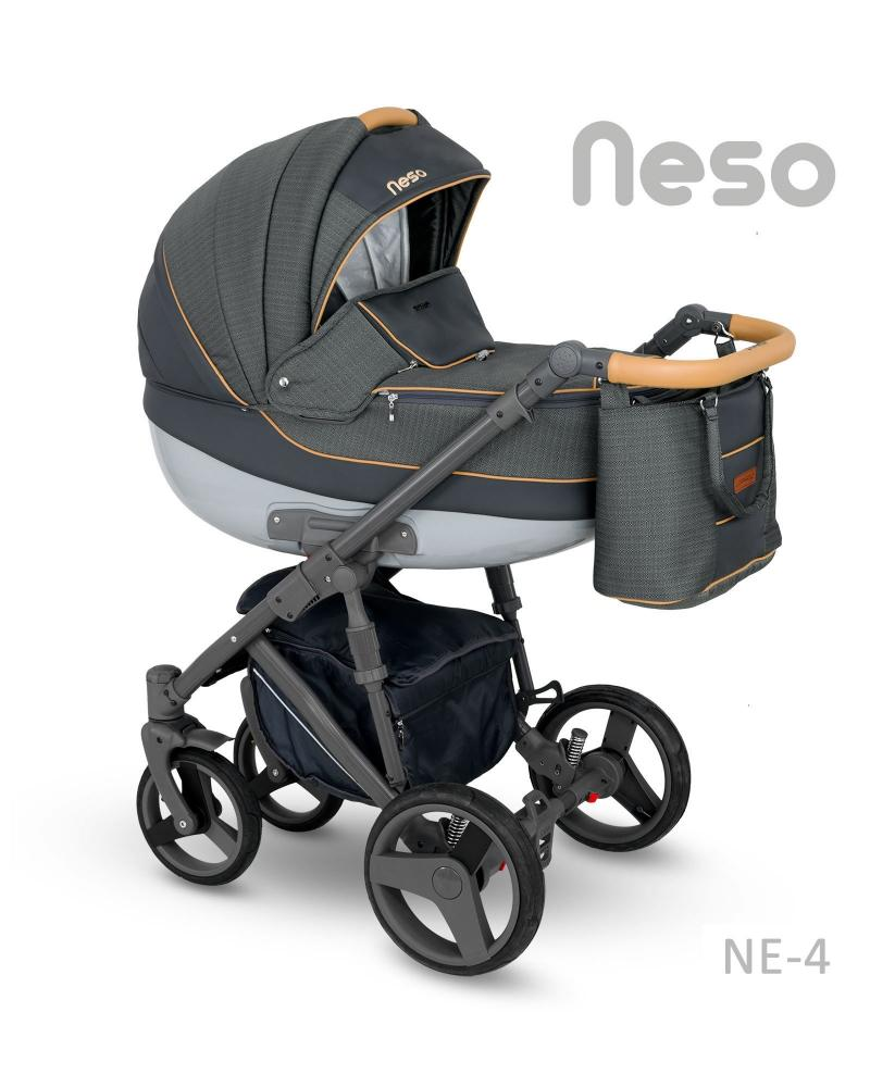 Carucior copii 2 in 1 Neso Camarelo Color NE-4 imagine