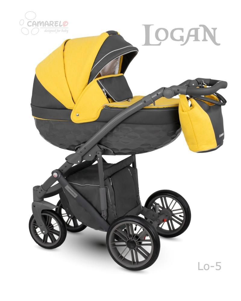 Carucior copii 3 in 1 Logan Camarelo color 5