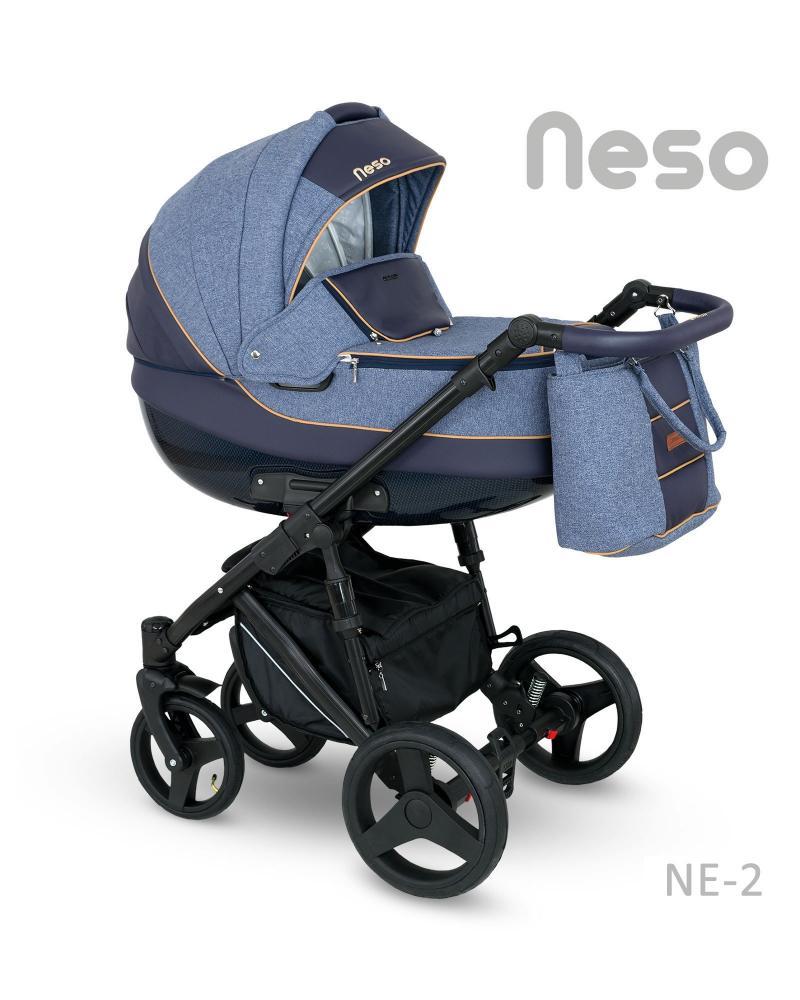 Carucior copii 3 in 1 Neso 2018 Camarelo Color NE-2