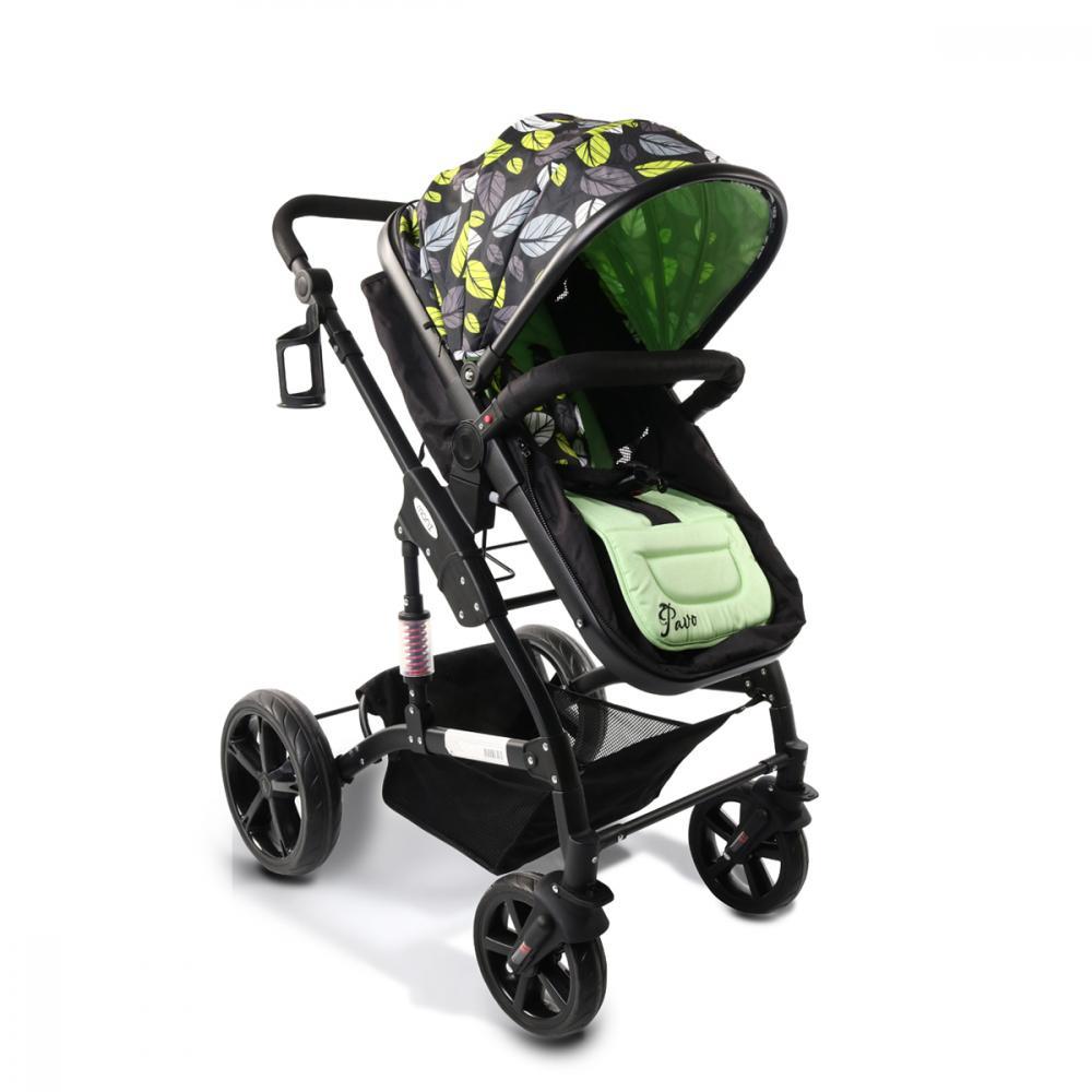 Carucior transformabil 2 in 1 Moni Pavo New Green