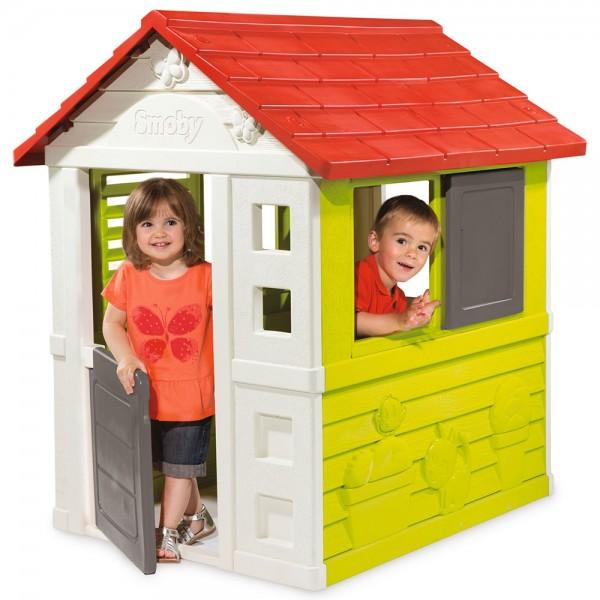 Casuta pentru copii Smoby Nature Playhouse imagine