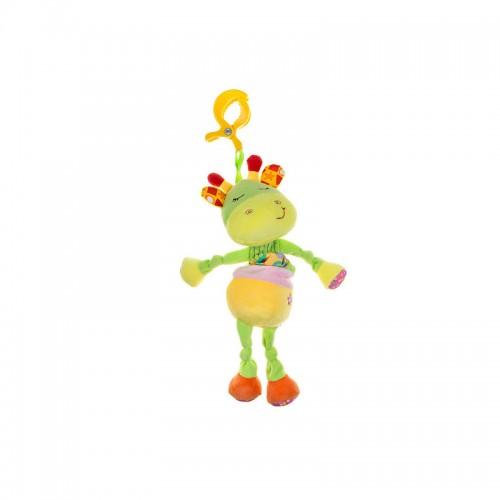 Jucarie copii din plus cu clips GIRAFFE din categoria Carucioare Copii de la Akuku