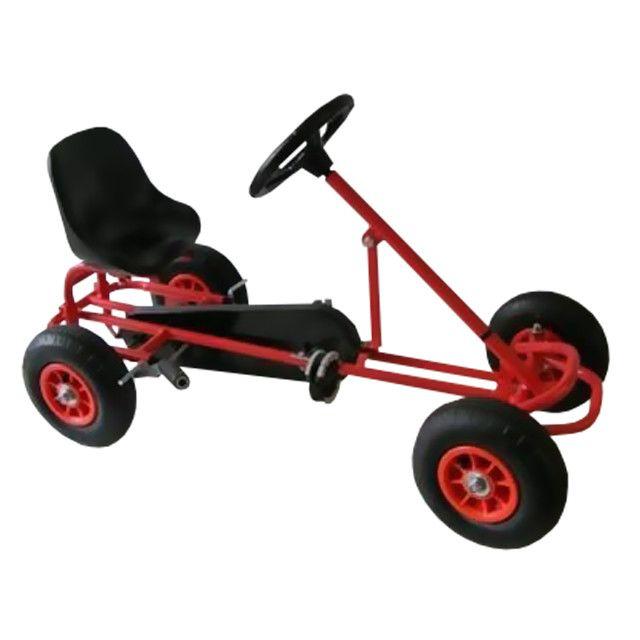 Kart cu pedale F100 rosu
