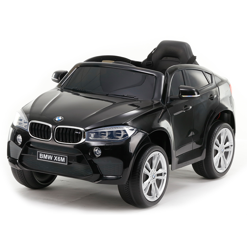 Masinuta electrica cu roti din cauciuc BMW X6M Black JJ2199 imagine