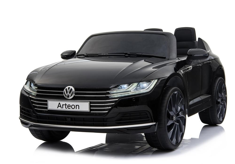 Masinuta electrica cu scaun de piele VW Arteon Black imagine