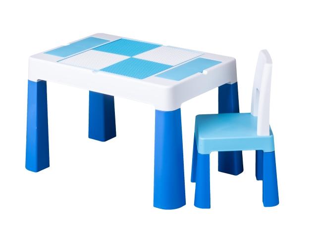 Set masuta cu scaunel Tega Baby Multifun Albastru imagine